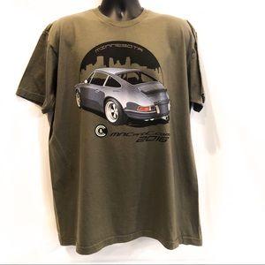 Men's Porsche American apparel graphic t Shirt 2XL